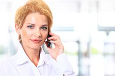 Blonde Business Woman Stock Photos