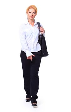Free Smiling Business Woman Royalty Free Stock Photography - 20100937