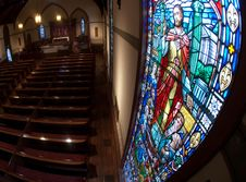 Free Stained Glass Window Stock Photo - 20101470