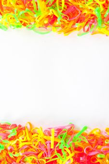 Free Plastic Band Full Color Royalty Free Stock Photography - 20101527