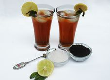 Free Lemon Tea Royalty Free Stock Images - 20101649