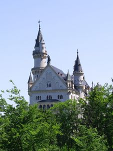Free Castle Neuschwanstein In Alps Stock Photo - 20101690