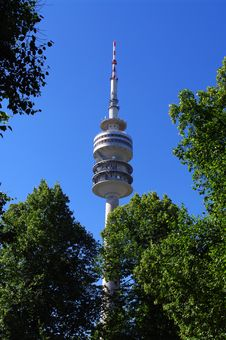 Free Tower In Olympiapark Stock Image - 20101781