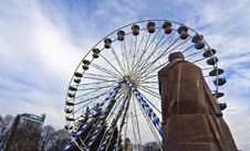 Ferris Wheel. Stock Photo