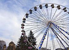 Ferris Wheel. Stock Photos