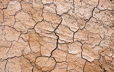 Drought On The Ground Stock Photos