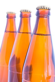 Free Beer Bottles Royalty Free Stock Photos - 20103308