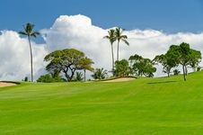 Free Beautiful Golf Place. Royalty Free Stock Images - 20103309