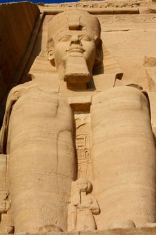 Abu Simbel Temple Royalty Free Stock Image