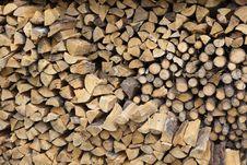 Free Stacked Firewood Stock Photos - 20103403