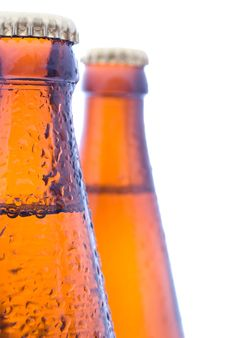 Free Beer Bottles Royalty Free Stock Image - 20103426