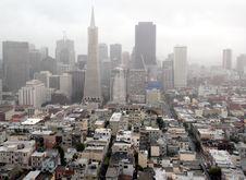Free Foggy San Francisco Royalty Free Stock Images - 20104359