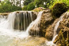 Free Jedsaownoi Water Fall In A National Park Royalty Free Stock Photo - 20104445