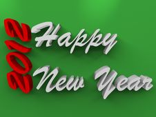 Free Happy New Years On Green Stock Images - 20104484