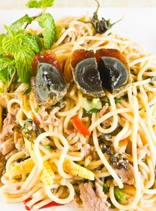 Thai Spicy Food Noodle