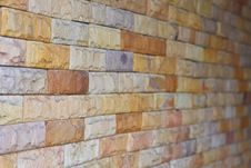 Free Masonry Block Walls. Royalty Free Stock Photography - 20105037