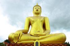Free A Big Buddha At Wat Sri Sumrong,Sukho Thai Stock Images - 20105274