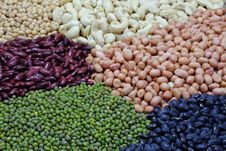 Free Beans And Nut Stock Image - 20105341