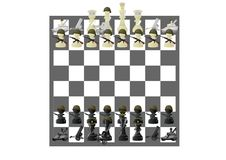 Free Military Chess Stock Images - 20105684