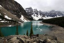 Free Moraine Lake Royalty Free Stock Images - 20106039