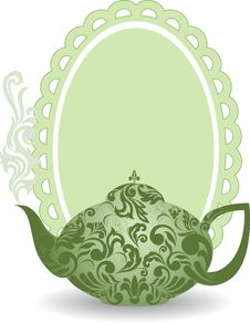 Free Green Teapot Stock Photos - 20106053