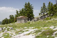 Free Little Church On Parnassos Mountain Royalty Free Stock Photography - 20107467
