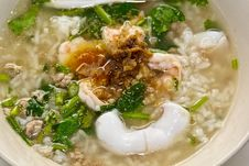 Free Soft-boiled Rice Seafood Stock Images - 20107474