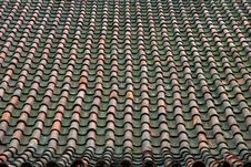 Free Old Tile Roof Royalty Free Stock Photos - 20108248