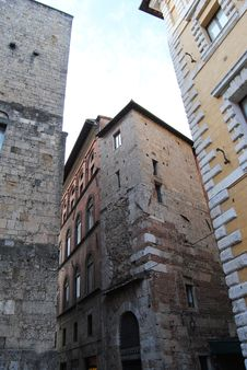 Photos Of The Beautiful City Of Siena Stock Photo