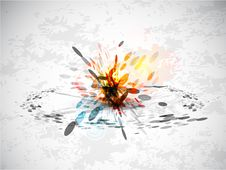 Free Abstract Explosion Background Royalty Free Stock Image - 20109236