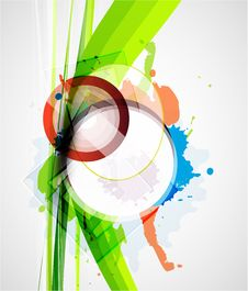 Free Vector Abstract Colorful Background Royalty Free Stock Images - 20109789