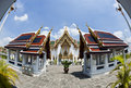 Free Wide Angle Of Thai Temple Royalty Free Stock Images - 20112909