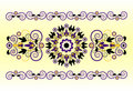Free Horizontal Ornament With Flower Royalty Free Stock Images - 20113239