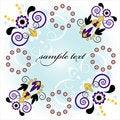 Free Framework With Flower Royalty Free Stock Photo - 20113265