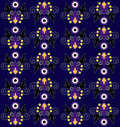 Free Pattern With Flower Seamless Texture Royalty Free Stock Image - 20113356