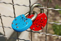 Free Two Padlocks Royalty Free Stock Images - 20113699