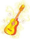 Free Abstract Guitar Sketchy Stock Image - 20113881