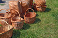 Free Brown Baskets Royalty Free Stock Image - 20114756