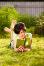 Free Reading In The Park Stock Photography - 20116332