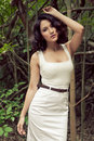 Free Beautiful Model In Woods Stock Images - 20119524