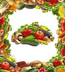 Free Fresh Vegetable Royalty Free Stock Photo - 20111115