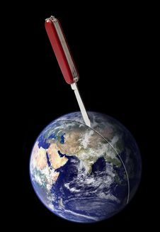 Free Violent Separation Of Earth Royalty Free Stock Photo - 20112825