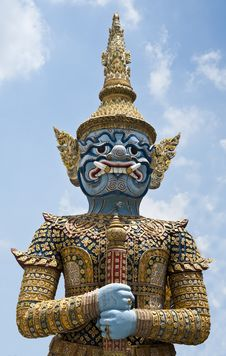 Free Giant In Grand Palace Stock Image - 20112871