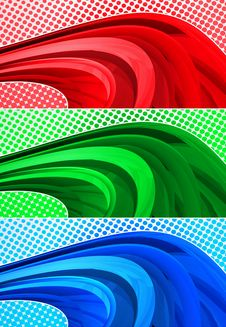 Free Halftone Banners Royalty Free Stock Images - 20112929