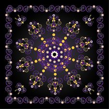 Free Pattern With Flower Royalty Free Stock Photo - 20113285