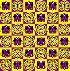 Free Pattern With Flower Seamless Texture Stock Photography - 20113322