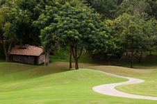 Free Golf Course Royalty Free Stock Images - 20114299