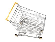 Free Shopping Carts Isolated Royalty Free Stock Image - 20114366