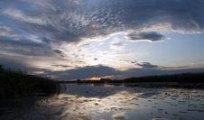 Free Sunrise On The Lake Stock Images - 20114774