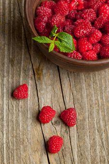 Free Fresh Ripe Raspberries Royalty Free Stock Photos - 20115128
